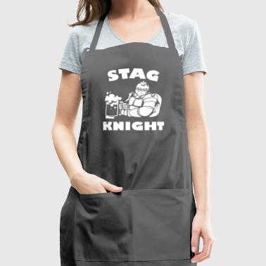 Stag Night Stag Knight - Adjustable Apron