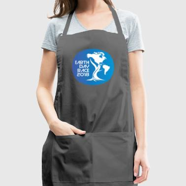 Earth Day Tree with North and South America - Adjustable Apron
