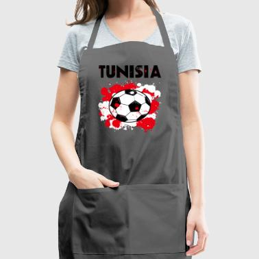 Tunisia Soccer Shirt Fan Football Gift Funny Cool - Adjustable Apron