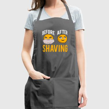 Sun Shining After Before Shaving - Adjustable Apron