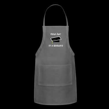 Aunt Proud Aunt Gift New Aunt - Adjustable Apron