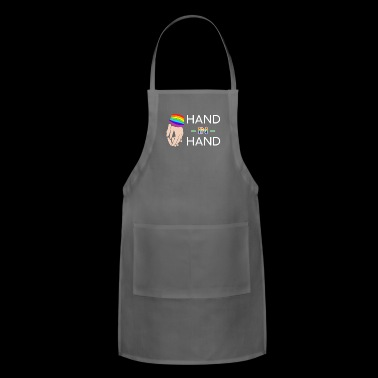hand in hand - Adjustable Apron