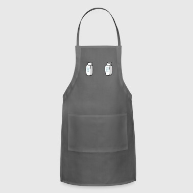 Milk Nipples Jugs - Adjustable Apron