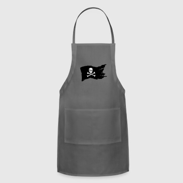 pirate flag (variable colors!) - Adjustable Apron