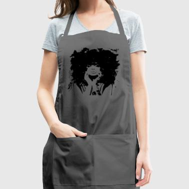 black and white - Adjustable Apron