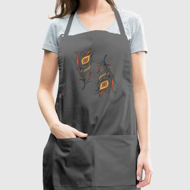 Feathers. - Adjustable Apron