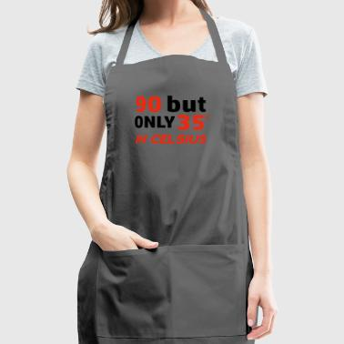 Funny 90 year old designs - Adjustable Apron