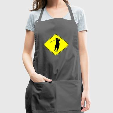 Golfer Crossing - Adjustable Apron