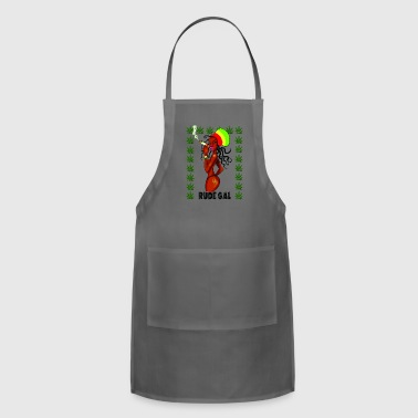 Rude Gal - Adjustable Apron