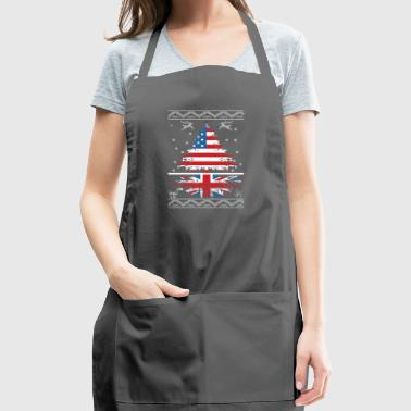 American with British root - Adjustable Apron