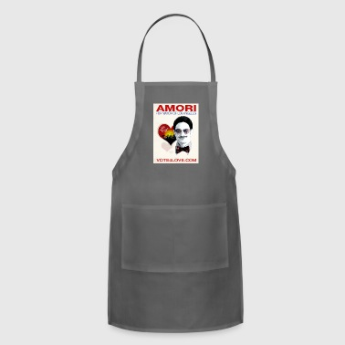 Amori for Mayor of Los Angeles eco friendly shirt - Adjustable Apron