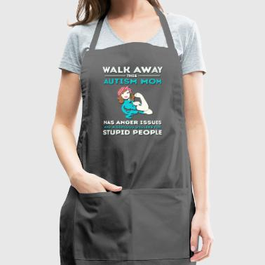 Autism Mom Autism Awareness - Adjustable Apron