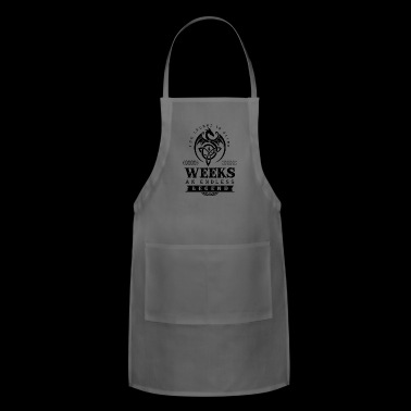 WEEKS - Adjustable Apron