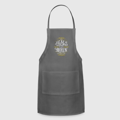 He Heals The Broken Hearted - Adjustable Apron
