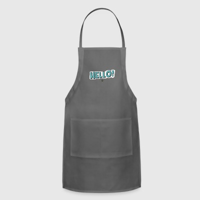 Cute Hello - Adjustable Apron