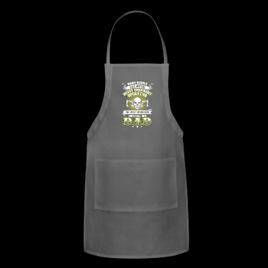 DAD Heavy Equipment Operator T-Shirts - Adjustable Apron