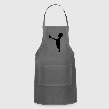Child with Butterfly - Adjustable Apron