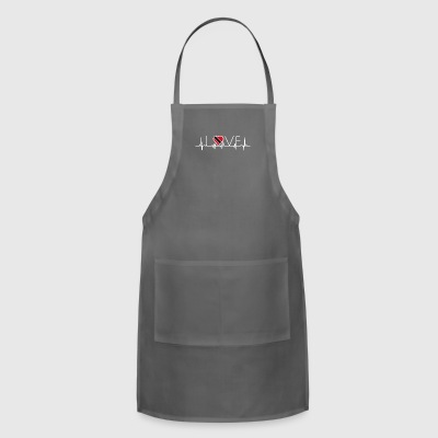 home roots queen love from heart Trinidad Tobago p - Adjustable Apron