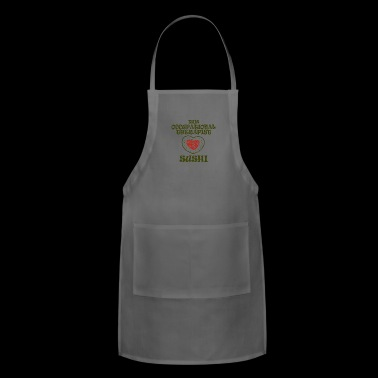 05 this occupational therapist gift - Adjustable Apron