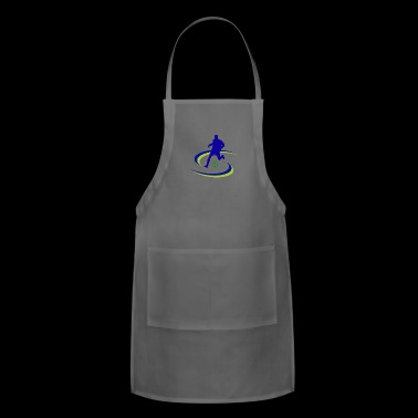 soccer player kicker - Adjustable Apron