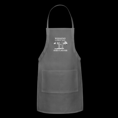 Snowboarding weather - Adjustable Apron