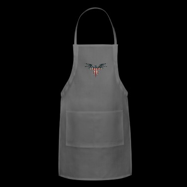 eagle paint, eagle paint flag - Adjustable Apron