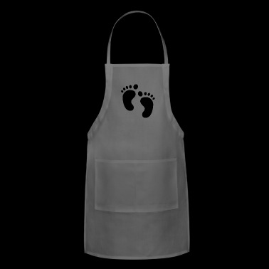 baby feet - Adjustable Apron