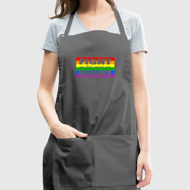 LGBT colorful flag love gift homosexuals friends - Adjustable Apron