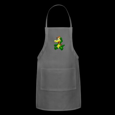 Alligator on Safari - Adjustable Apron