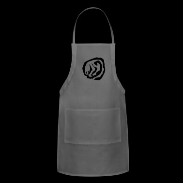 alien stamp - Adjustable Apron
