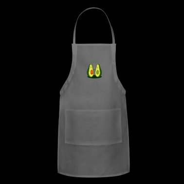 Avocado romance - Adjustable Apron