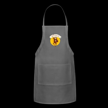 Happy Father Day - Funny Father Day Gift - Adjustable Apron