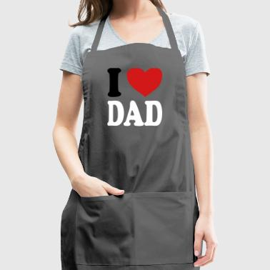 I love DAD (variable colors!) - Adjustable Apron
