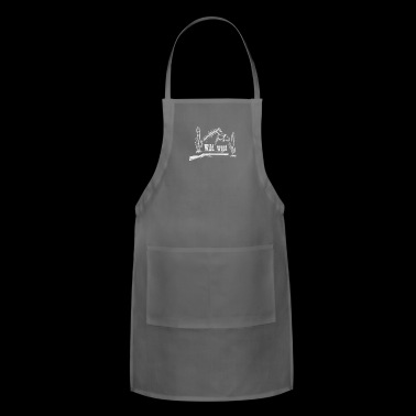 With horse revolver and cactus - Adjustable Apron