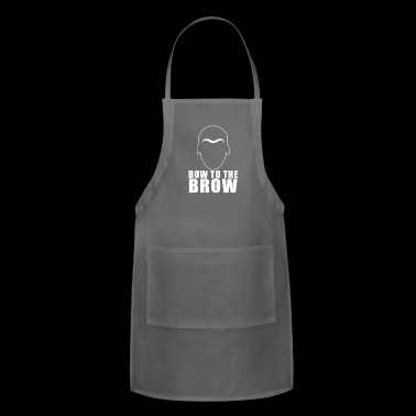 Bow To The Brow - Adjustable Apron