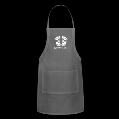Happy Feet - Adjustable Apron