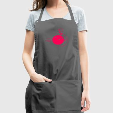bowling ball in the nuts - Adjustable Apron