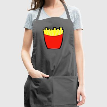 french fries pommes frites fastfood fast food5 - Adjustable Apron