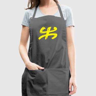 Tee shirt Amazigh yellow - Adjustable Apron