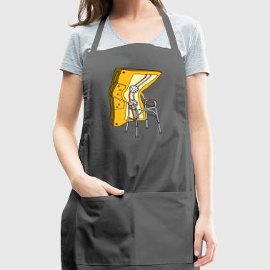 Old Audio Tape cassette hospital on the road - Adjustable Apron