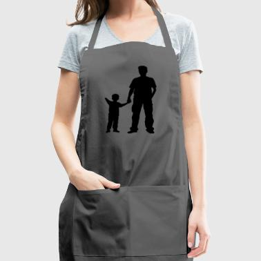 father and son - Adjustable Apron