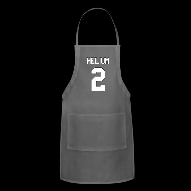 Helium Element Periodic Table - Adjustable Apron