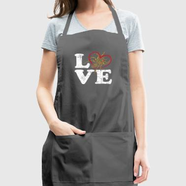 Spider Love - Adjustable Apron