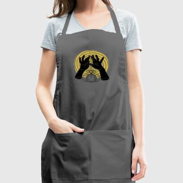 clock dark hand - Adjustable Apron