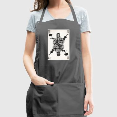 play card - Adjustable Apron