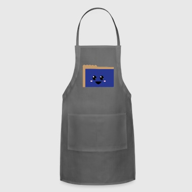 blue pie - Adjustable Apron
