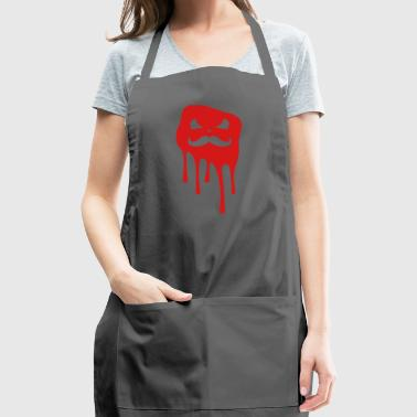 Mustache Face slime - Adjustable Apron