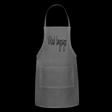 visual language - Adjustable Apron