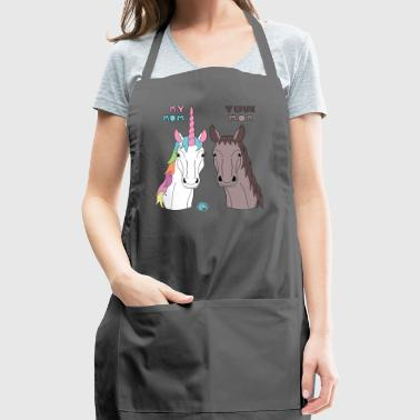 My Your Mom Unicorn Horse - Adjustable Apron