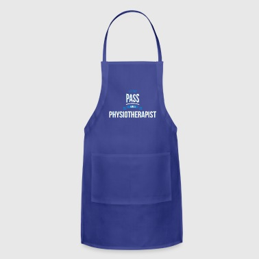 let me pass Physiotherapist gift birthday - Adjustable Apron